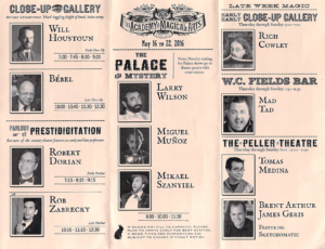 Magic Castle program (inside)