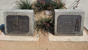 Challenger and Columbia dual memorials